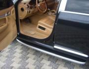 Пороги Porsche Cayenne NS001 (Newstar Grey)