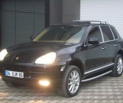 Пороги Porsche Cayenne NS001 (Newstar Grey)