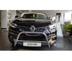 Защита переднего бампера для Renault Kadjar (2015+) RNKJ.10.F1-11M d60мм x 1.6