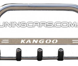 Защита переднего бампера для Renault Kangoo (1998-2008) RNKG.98.F1-09 d60мм x 1.6