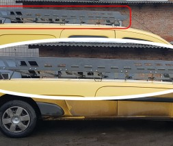 Багажная платформа на крышу для Renault Kangoo (2007-2013) RNKG.07.T3-04L (Серый) длинная база