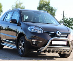 Кенгурятник Renault Koleos [2015+] WT003 Model