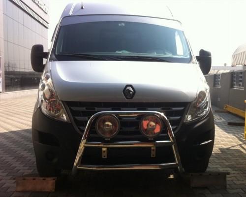 Кенгурятник Renault Master/Opel Movano WT018 (Adolf)