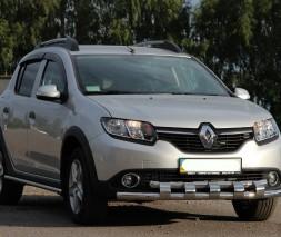 Кенгурятник Renault Sandero Stepway [2013+] ST015