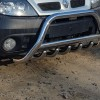 Защита переднего бампера для Renault Scenic RX4 (2000-2003) RNRX4.00.F1-03 d60мм x 1.6