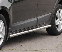 Пороги трубы для Renault Scenic III (2013-2015) RNSC.13.S1-01 d60мм x 1.6