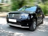 Кенгурятник Dacia/Renault Duster [2010+] ST014 (Greyder)