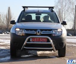 Кенгурятник Dacia/Renault Duster [2010+] WT022 (Vagor)