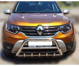 Модельный кенгурятник Renault Duster (09+) RNDT.09.F1-03M