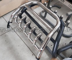 Передняя защита кенгурятник Renault/Dacia Duster (10-18) RNDT.09.F1-57