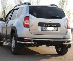Задняя защита Dacia/Renault Duster [2010+] AK005-3