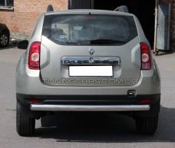 Защита заднего бампера для Renault Duster (2009+) RNDT.09.B1-02 d60мм x 1.6