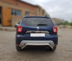 Защита заднего бампера для Renault Duster (17+) RNDT.17.B1-19 d60мм x 1.6