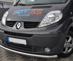 Передняя защита ус Renault Trafic (01-14) NSPM.01.F3-05