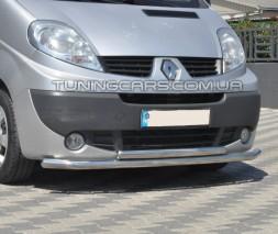 Передняя защита ус Renault Trafic (01-14) NSPM.01.F3-10