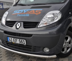Кенгурятник Renault Trafic/Opel Vivaro ST008 (Tetri)