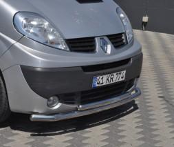 Кенгурятник Citroen Jumper, Fiat Ducato, Peugeot Boxer [2006+] ST014 (Greyder)