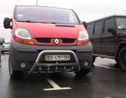 Кенгурятник Renault Trafic WT004 (с надписью)
