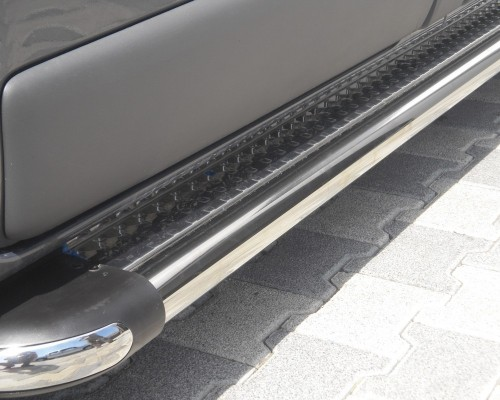 Пороги площадка для Opel Vivaro S2-02 d60мм x 1.6