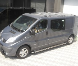 Пороги Renault Trafic/Opel Vivaro KB002 (Hunter)