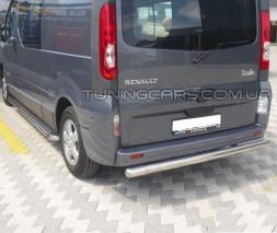 Задняя защита Renault Trafic (01-14) NSPM.01.B1-02