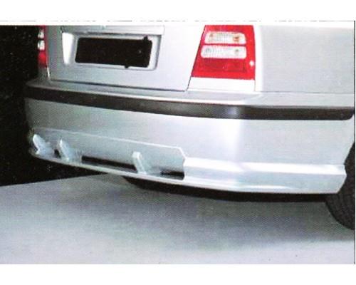 Накладка на задний бампер Skoda Octavia RS