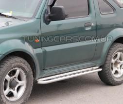 Пороги площадка Suzuki Jimny (04+) SZJM.04.S2-01