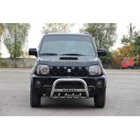 Защита переднего бампера для Suzuki Jimny (04+) SZJM.04.F2-16 d60мм x 1.6