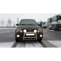 Защита переднего бампера для Suzuki XL-7 (2003-2006) SZXL.03.F2-01 d60мм x 1.6