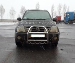 Защита переднего бампера для Suzuki XL-7 (2003-2006) SZXL.03.F2-02 d60мм x 1.6