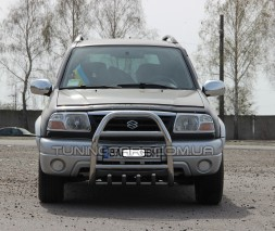 Передняя защита кенгурятник Suzuki Grand Vitara I (97-05) SZGV.97.F2-02
