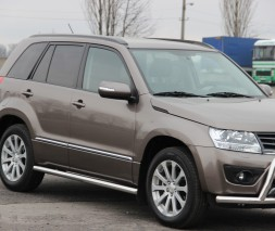 Пороги Suzuki Grand Vitara (JLX) BB001