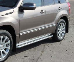 Пороги Suzuki Grand Vitara (JLX) KB001 (Hector)