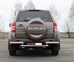 Задняя защита Suzuki Grand Vitara AK005-1