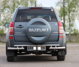 Задняя защита Suzuki Grand Vitara AK005-3