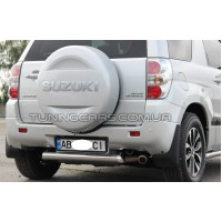 Защита заднего бампера 3-Д для Suzuki Grand Vitara II (2005-2012) SZGV.05.B1-35-3D d60мм x 1.6