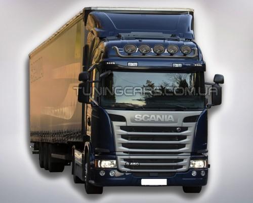 Держатель фар на крышу для Scania G450 SCG4.07.H1-02 d60мм x 1.6