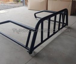 Защитная дуга для кузова SsangYong Actyon Sports (2006-2012) SYAS.06.С1-08 черный d60мм x 1.6