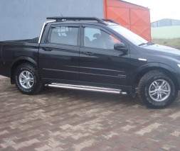 Пороги SsangYong Actyon Sports [2008+] KB002 (Hunter)