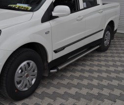 Пороги SsangYong Korando Sports [2010+] KB002 (Hunter)