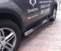 Пороги SsangYong Korando [2010+] TT002 (Dragos)