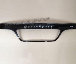 Дефлектор капота (мухобойка) для Ssang Yong Musso Sports с 2002–2006 г.в.