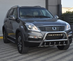 Кенгурятник SsangYong Actyon (Sports) [2006+] WT003 (Inform)