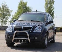 Передняя защита кенгурятник SsangYon Rexton (06-12) SYRX.06.F2-01