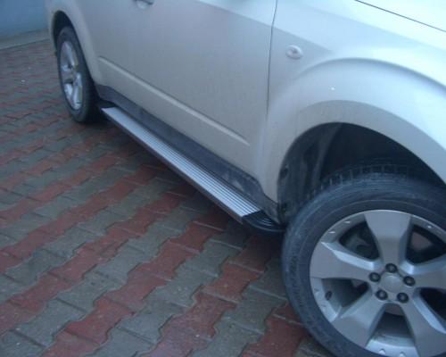 Пороги Subaru Forester EB001 (Elegance Silver)
