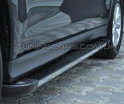 Пороги Subaru Forester EB002 (Elegance Black)