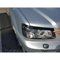 Накладки на фары (реснички) Subaru Forester, Субару Форестер