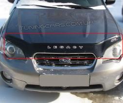 Дефлектор капота (мухобойка) для Subaru Legacy IV/Legacy Outback III с 2003-2009 г.в.