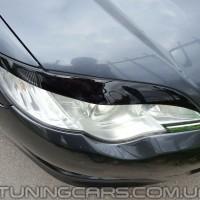 Накладки на фары (реснички)  Subaru Legasy, Субару Легаси