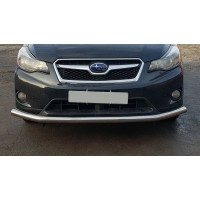 Защита переднего бампера для Subaru XV (2011-2017) SBXV.11.F3-05 d60мм x 1.6